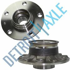 Set (2) New REAR Wheel Hub and Bearing Assembly for Audi A3 Volkswagen ABS 30mm