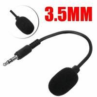 Flexible 3.5mm Jack Plug Mini Microphone Mic Stereo Adjustable Goose Neck US