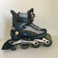 K2 womens rollerblades 9 gray orange soft boot Inline skates Xcelerate