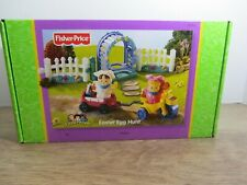 RARE Fisher Price Little People Easter Egg Hunt Toy Set NEW  wagon BIKE swing
