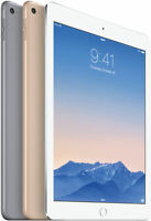 Apple iPad Air 2 16GB 32GB 64GB Wi-Fi + Cellular Unlocked 9.7in Gray Silver Gold