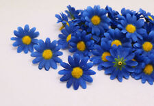 120PCS Gerbera Daisy Artificial Silk Flowers Head Wedding Party decoration