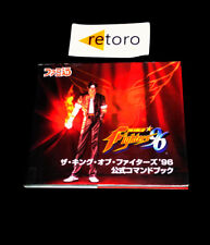 GUIA GUIDE BOOK THE KING OF FIGHTERS 96 KOF96 SNK Neo Geo JAP Guidebook