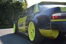 NISSAN S13 SILVIA 180SX VERTEX ORIGIN SIDE SKIRT EXTENSIONS JSAI AERO