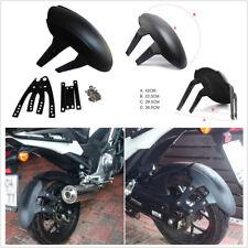 Black PVC Motorcycle No Groove Tires Motorcycle Rear Wheel Cover Fender Mudguard