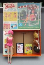 "1964 ORIGINAL ""MISS BARBIE"" in BOX~BARBIE FURNITURE~WIGS~STAND~OSS~1st BEND LEGS"