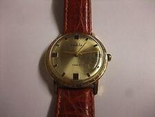 Original DDR Kult UMF Ruhla Uhr Herren Armbanduhr Handaufzug 7 Jewels läuft