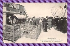 CPA 13 - MARSEILLE - Lifts of N.D of the Guard, l''arrival on the platform