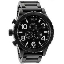 *NEW* NIXON 51-30 A083-001 WATCH MENS BLACK TONE CHRONOGRAPH - NEXT DAY DELIVERY