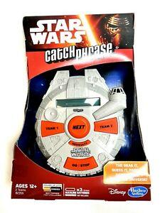 Disney Star Wars Catch Phrase Game from Hasbro Brand New in Box