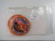 2001 National Jamboree CSP Adult Patch YELLOW Bdr. [P474]