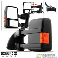 2008-2016 Ford F250/F350 Super Duty Manual LED Signal Towing Mirror Driver Side