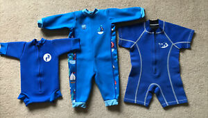 Baby Wetsuits 0-6 6-12 12-18 Splash About