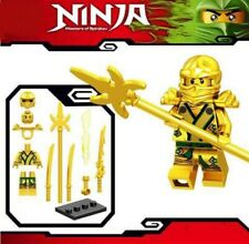 Ninjago Golden Ninja Master of Spinjitzu Custom Lego Mini Figure Lloyd ZX Kai