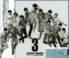 Super Junior-Third Álbum Sorry. Sorry-Japan 2 CD+Libro Adicional Track J50
