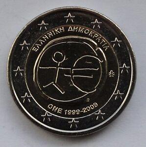 GREECE - 2 € Euro common commemorative coin 2009 EMU