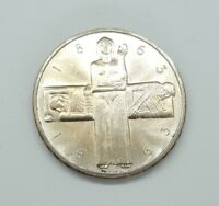 1963 Switzerland 5 Francs Silver Coin UNC