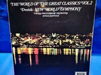 "DECCA SPA 87 (SXL 2289) *KERTESZ* DVORAK ""NEW WORLD"" SYMPHONY* VIENNA PHIL* NM"