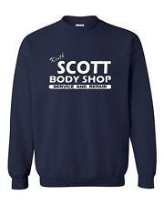 Keith Scott One Tree Hill Body Shop North Carolina TV Fan Crewneck Sweatshirt