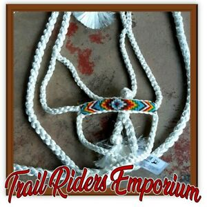 Horse halter Professionals Choice western horse full size beaded navajo nose