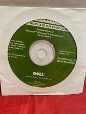 Dell 2007 Reinstallation CD Windows XP Professional Service Pack 2 NEW SEALED