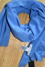 MARC O'POLO wunderschöner XXL Schal Stola 100% Wolle neu Blau