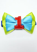 Rainbow 1st Birthday Bow Tie