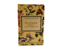 Crabtree & Evelyn SUMMER HILL Fragrance Scented Bath Bar Soap 100g New in box