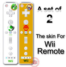 Super Mario Yoshi and Bowser Skin Sticker Decal Cover for Nintendo Wii Remote