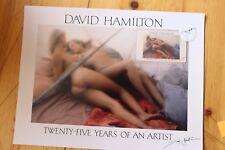 Rare Photo DAVID HAMILTON Twenty-Five Years of An Artist + Carte / 2313