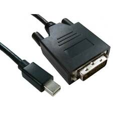 3m Long Mini DisplayPort Male to DVI-D Male Cable Lead