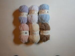 Sirdar Snuggly Snowflake Chunky 50g Ball Polyester Baby Knitting Yarn