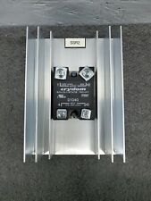 Crydom D1D40 3.5-32V Input 100V 40A Output Solid State Relay w/ Heat Sink