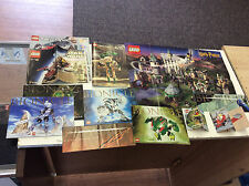 Lego Manual Bionicle Lot & Harry Potter Lego Poster! See Pics!