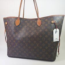 Auth Louis Vuitton Neverfull GM Monogram M40157 Guaranteed Shoulder Tote LC471