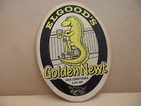 Elgoods Golden Newt Ale Beer Pump Clip Pub Bar Collectible 12