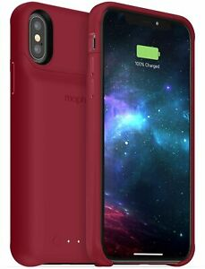 mophie Juice Pack Access 2,000mAh Battery Case for iPhone Xs & iPhone X - Red