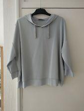ZARA Collection Silky Hooded Sweatshirt style size L BNWT