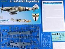 eduard - Me Bf 109G-6/R6 MTT Regensburg Calde Surau Modell-Bausatz 1:48 kit