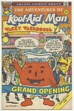 ADVENTURES OF KOOL-AID MAN #5 (Premium Variant, Dan DeCarlo Art) Archie, 1988