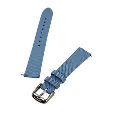 Invicta светло-голубой шириной 16 мм подлинный кожаный ремешок