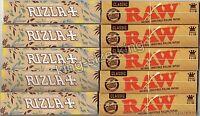 Rizla Natura Kingsize Rolling Papers And Raw Classic Hemp King Size Paper Set