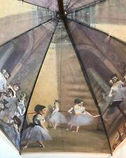 Degas Dancing Ballerinas 48� Umbrella Wooden Handle Artsy