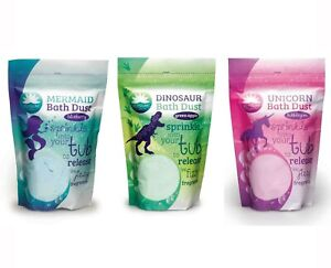 Elysium Spa Large 400g Bubble Bath Dust Bath Bomb Salts Unicorn Fragrance Fizz ❤