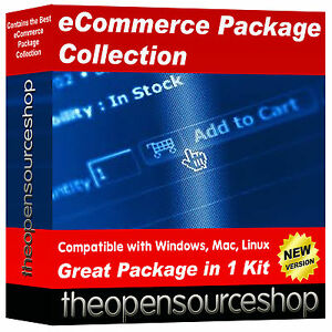 eCommerce Website Shop & CRM Software Collection – Setup Your Own Website