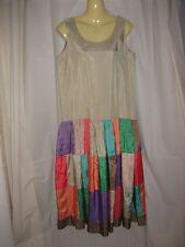 Myee Gold Coast Designer As-New Gatsby Harlequin Maxi Dress Size 10-12
