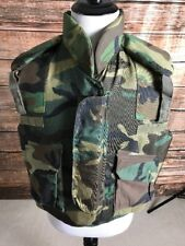 BODY ARMOR FRAGMENTATiON VEST Made With Kevlar Camoflauge Extra Large,New No Tag