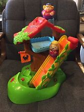 Playskool Hasbro Weebles Musical Tree House Toy Play Set Wobble 2 weebles PARTS