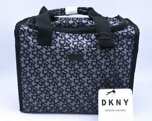 DKNY Signature Tote Lunch Bag Cooler In Black Insulated New With Tags RRP £60