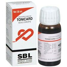2 X Homeopathic SBL Tonicard Drops 30 ml Free Shipping